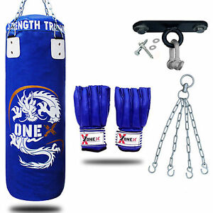 New 3ft Heavy Filled Boxing Punch Bag SetHookChainGloves MMA pads UFC Blu - manchester, Greater Manchester, United Kingdom - 14 days after purchase and without using Most purchases from business sellers are protected by the Consumer Contract Regulations 2013 which give you the right to cancel the purchase within 14 days after the - manchester, Greater Manchester, United Kingdom