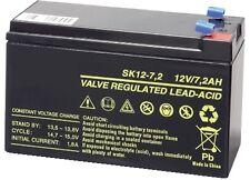 Batteria Ricaricabile al Piombo 12V Volt 7Ah ideale x Gruppi di Continuità e UPS