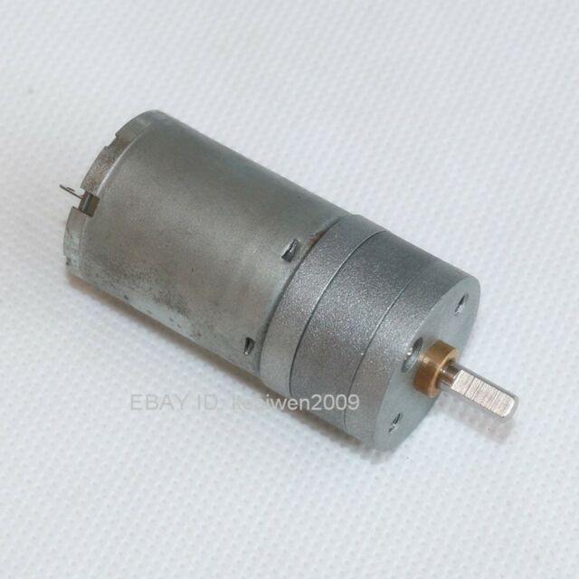 DC12V 188RPM Gear Motor Torque Electric Intelligent Robot Smart car motor 24.4mm