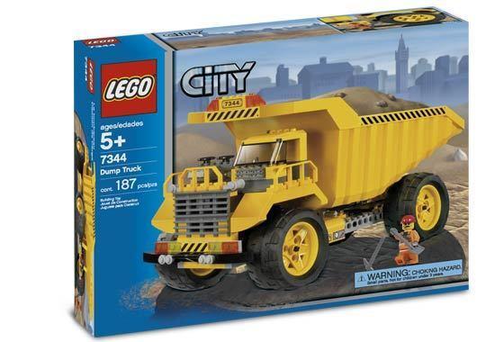 Lego Town City 7344 Dump Camión NUEVO PRECINTADO muy difícil de encontrar