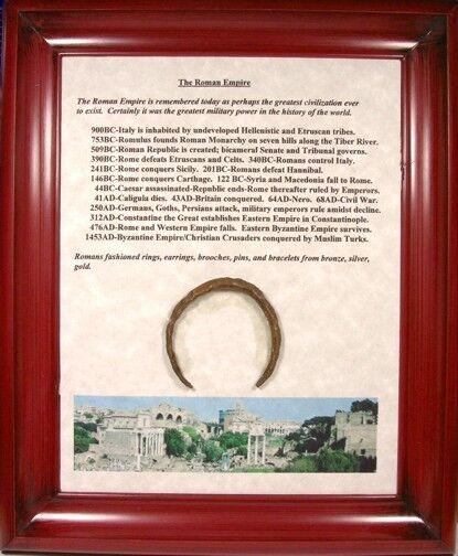 100ad Antiguo Bronce Romano Judaea Israel Phoenica Philistine Pulsera Placa CóModo Y FáCil De Usar
