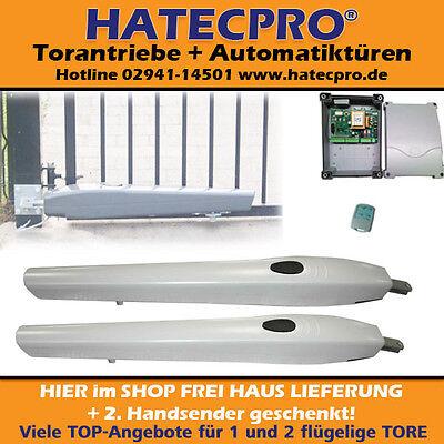 Torantrieb  HATECPRO®  KOLOSS  bis 8m Tor Durchfahrt 2-flg. ECO Drehtorantrieb