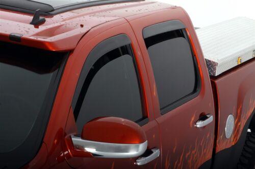 AVS 894044 Low-Profile Ventvisor Window Deflector 2017 Ford Super Duty Crew