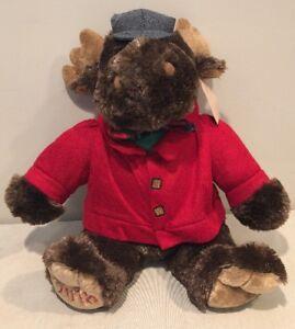 Sears-Roebuck-amp-Co-Cuddly-Classics-18-034-Collectible-Moose-2018-Dan-Dee-NEW