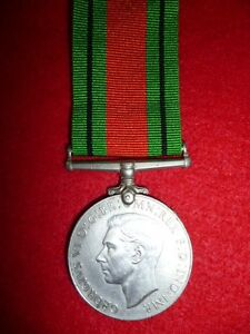 UK-Britain-The-Defence-Medal-WW2-EF-Mint-Condition