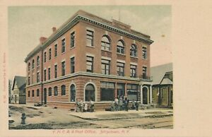 JOHNSTOWN-NY-Y-M-C-A-and-Post-Office-udb-pre-1908