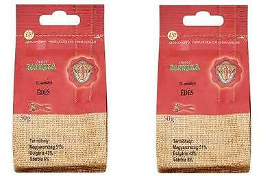 2x Original Hungarian Szegedi Ground Pepper 2nd Class Delicatessen Sweet 2x50g