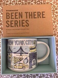 Starbucks Coffee Been There Series 14oz Mug NEW YORK CITY Cup w/SKU