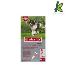 Advantix Bayer Antiparassitario CANI 10 - 25 KG Antipulci SCAD 02/2021