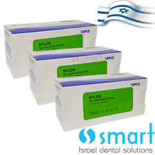 Lot X 3 Dental Nonabsorbable Surgical Suture 30 Nylon Monofilament Synthetic