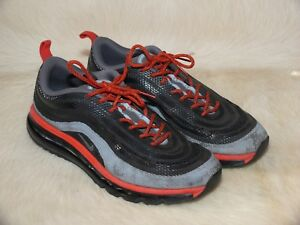 67145717dc NIKE AIR MAX 97-2013 HYP MENS SNEAKERS Red / Gray [631753-001] SIZE ...
