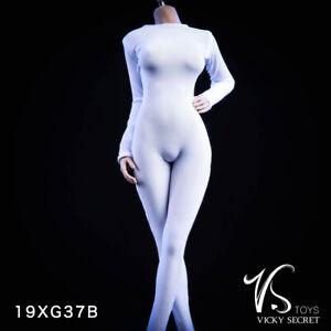 "1//6 JOA-62A Female Black Lace Dress Clothes Fit 12/"" PH TBLeague JIAOU DOLL Body"