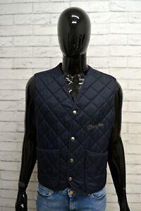 Giubbino-Giacca-Uomo-WRANGLER-Taglia-Size-M-Giubbotto-Gilet-Blu-Jacket-Man