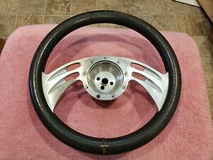 "Vintage Billet Steering Wheel 13"" Hot Rod Boyds ? Mini truck chevy S10 C10 FORD"
