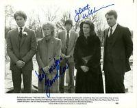 GLENN CLOSE & JOBETH WILLIAMS Signed Photo - THE BIG CHILL