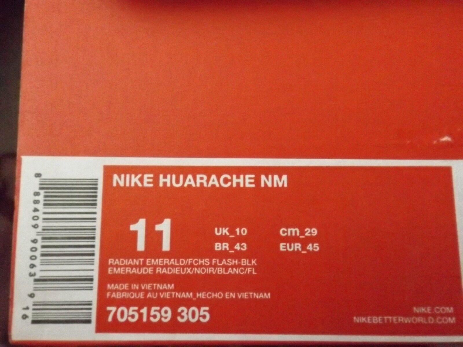 Nike smaragdgrünen huarache nm männer laufschuhe smaragdgrünen Nike lila fuschia 705159-305 70e10e