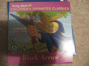 NEW BLACK ARROW DVD  CHILDRENS ANIMATED CLASSICS  DAILY MAIL - Somerset, United Kingdom - NEW BLACK ARROW DVD  CHILDRENS ANIMATED CLASSICS  DAILY MAIL - Somerset, United Kingdom
