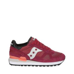 SAUCONY SHADOW ORIGINAL Sneaker uomo rossa in tessuto
