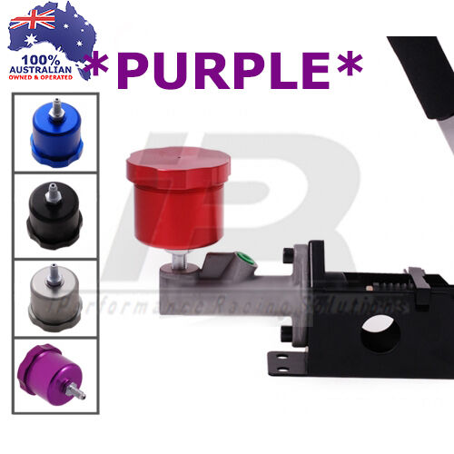 PURPLE Hydraulic Handbrake Brake Fluid Master Cylinder Clutch Pot Reservoir