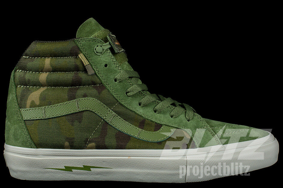 VANS SK8-HI NOTCHBACK DEFCON Sizes 8-13 MULTI CAMO JUNGLE VN000OK4KUZ
