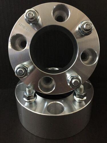 "2x  2.0/""  4x110 ATV Wheel Spacers Yamaha Rhino Kawasaki Honda Wheel Spacers"