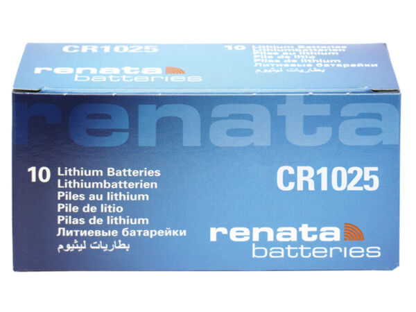 10 X Renata Cr1025 Pile Batterie 3v Battery Coin Cr Br Dl Ecr Kcr Lm Ml 1025 Factory Direct Selling Prijs