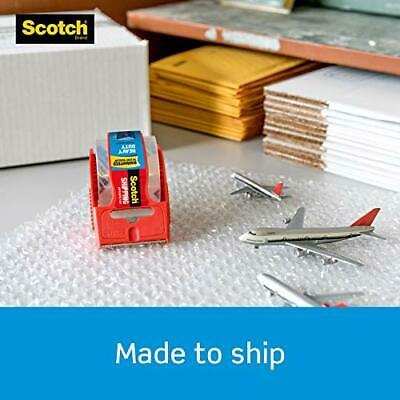 Shipping /& Moving 6 Count Great for Packing 1.5 Core 1.88 x 22.2 Yards 1 Pack Clear 6 Rolls with Dispenser Scotch Heavy Duty Shipping Packaging Tape