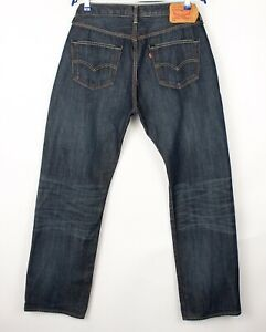 Levi's Strauss & Co Hommes 501 Jeans Jambe Droite Taille W36 L32 BDZ718