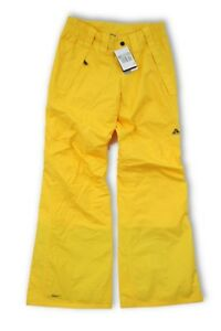 6deab140be43 Nike ACG Women s Yellow Stom Fit Ski Snowboard Pant Trousers - XS UK ...