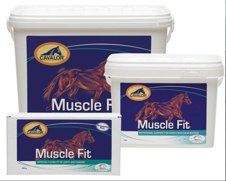 CAVALOR MUSCLE FIT  900g 2kg 5kg Nutrition for Supple Muscular Motion Supplement