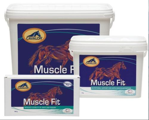 CAVALOR MUSCLE FIT 900g2kg5kg Nutrition for Supple Muscular Motion Supplement