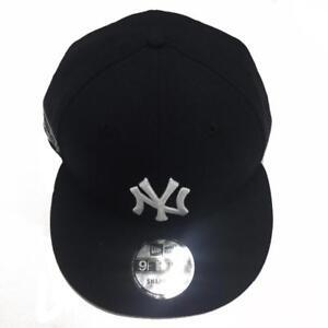 4bef90bf1504ce Details about Men's New York Yankees Aaron Judge New Era Black/Navy 9FIFTY  Custom Snapback Hat