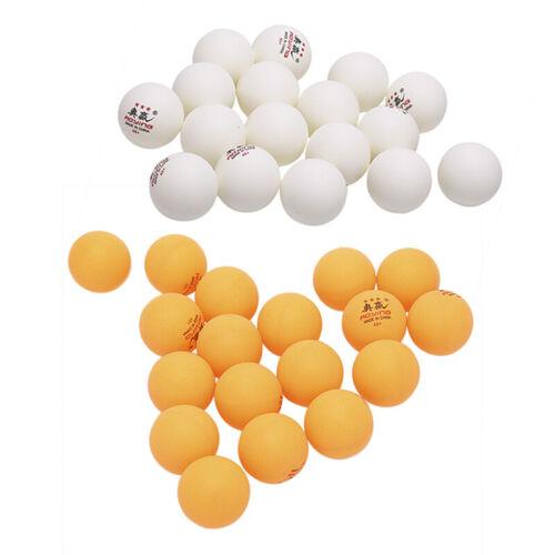 30 Pcs 3-Star 40mm 2.8g Table Tennis Balls White Yellow Pingpong Training BaHGU