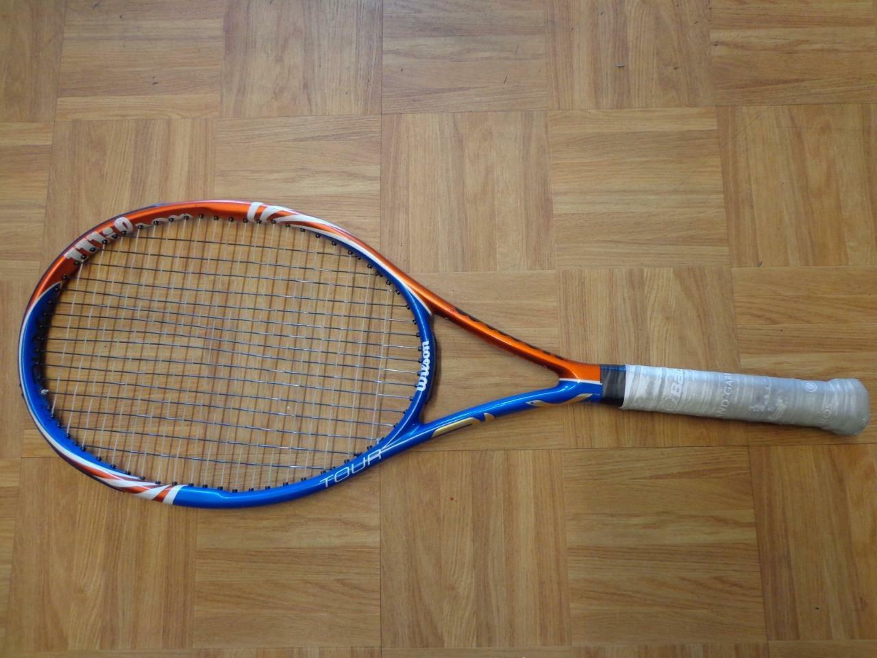Wilson BLX Tour 95 16x20 pattern 4 1 4 grip Tennis Racquet