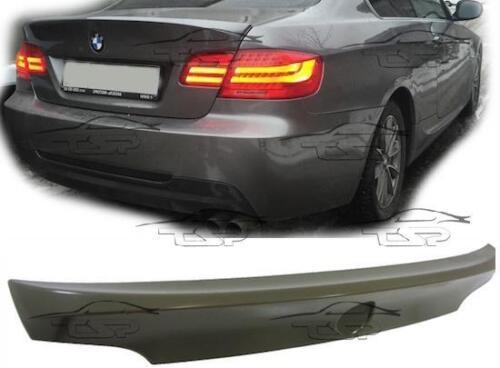 Becquet arrière sur coffre pour BMW E92 DE 2006 CSL Look Série 3 coupé Body Kit Nouveau