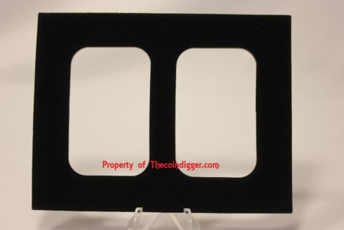 Display Case 2 AIR-TITE Storage Box for 1oz Silver Bar Capsule Holder Insert