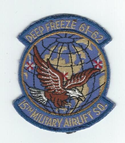 "15th MILITARY AIRLIFT SQUADRON ""DEEP FREEZE 6162"" patch"