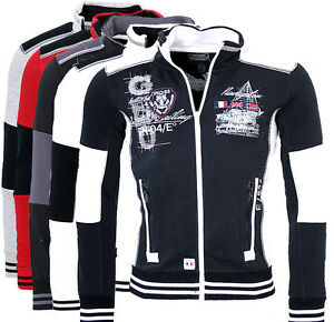GEOGRAPHICAL-NORWAY-Homme-Vest-Sweat-veste-sweat-a-capuche-galbord-PULL