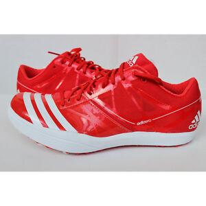Das Bild wird geladen Adidas-Adizero-LJ-2-Schuhe-Leichtathletik-rot-Gr-
