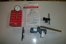 Starrett Universal Dial Test Indicator 196 With Erick Magna Holder Free Usa Ship
