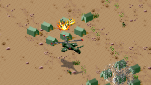 Desert Strike Pal Snes Ebay