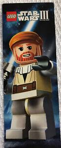 LEGO Star Wars 3  OBI-WAN Kenobi Action Figure Bookmark Collectible