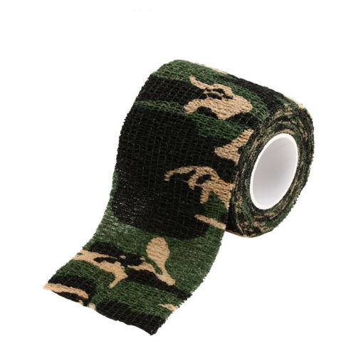 4Pcs Military Tactical Hunting Army Camo Camouflage Wrap Stealth Sticky Tape
