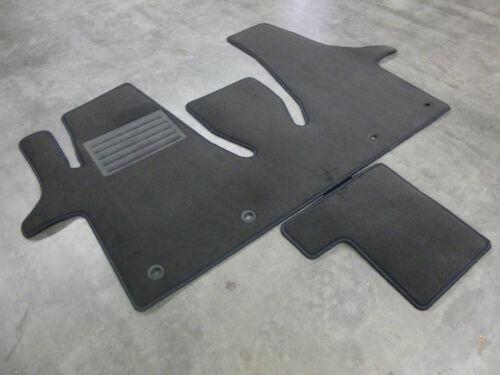 Velours Fußmatten Teppich für VW T6 Multivan Gastraum Kofferraum KOMPLETTAUSLAGE