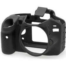 easyCover Protective Skin - Camera Cover for Nikon D3200 Camera (Black)