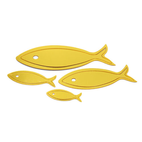 3D Acrylic Underwater World Small Fish Mirror Wall Stickers Room Home Decor SHAN