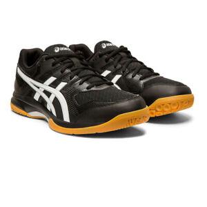 Asics Homme Gel-Rocket 9 Intérieur Cour Chaussures-Noir Sport Squash Badminton