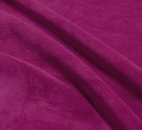 Mf16n Raspberry Rose microfibre velours forme ronde Housse de Coussin Taille personnalisée