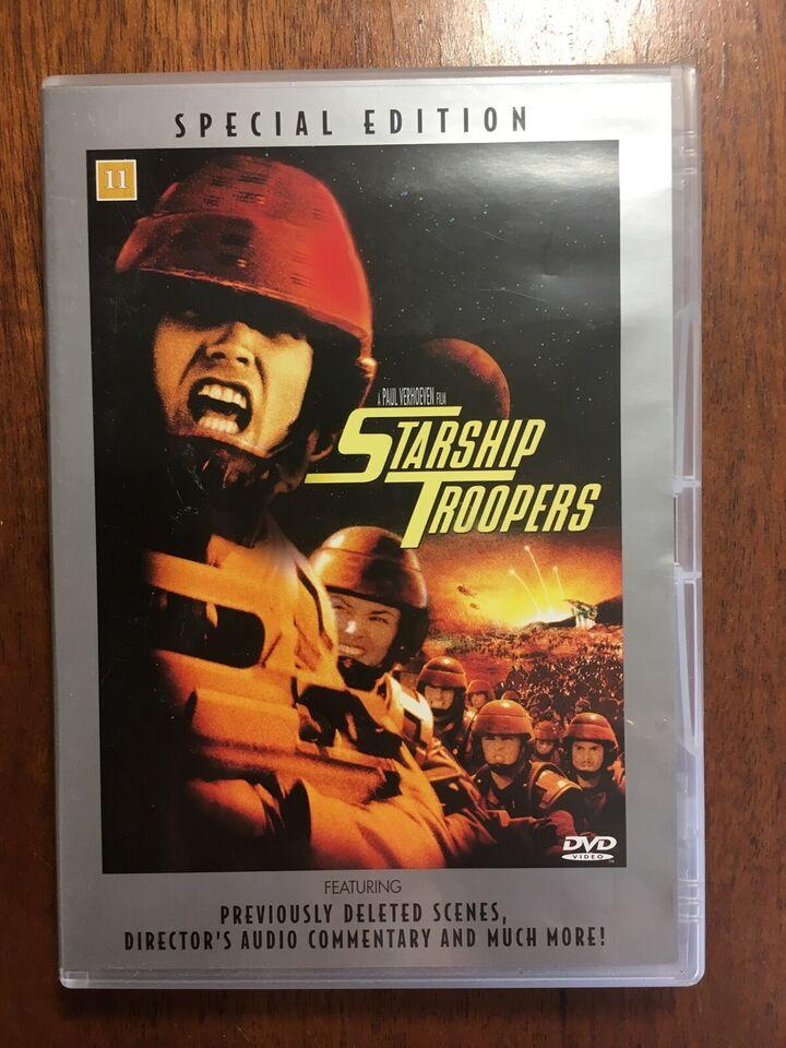 Starship Troopers, instruktør Paul Verhoeven , DVD