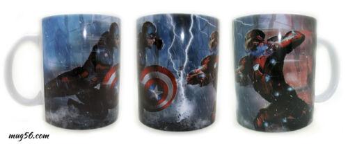 Captain america civil war iron man 008 MUG tasse
